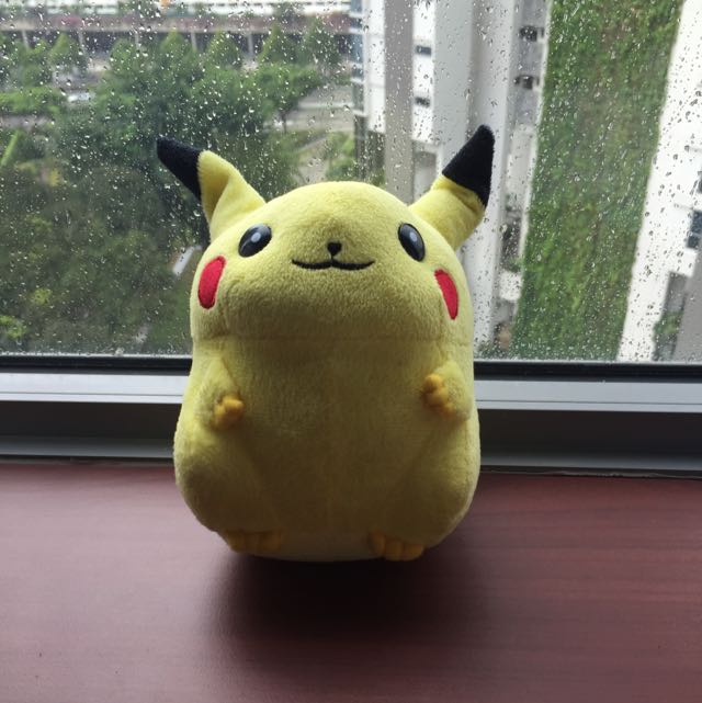 adopt fat pikachu toys games on carousell