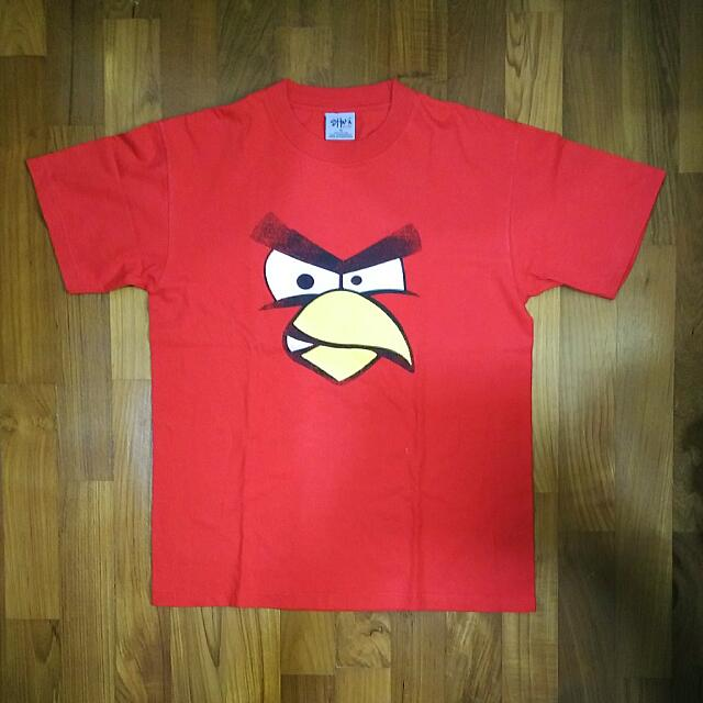 Angry Birds T shirt Size M