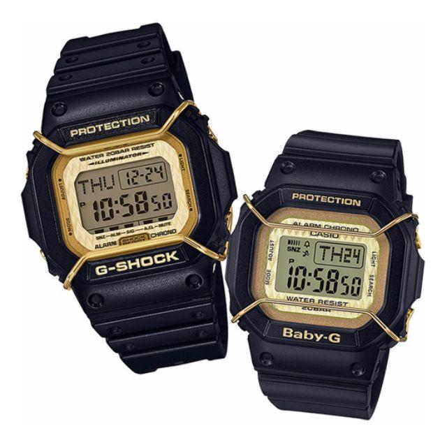 G-SHOCK & BABY-G 聖誕節 限量情人對錶