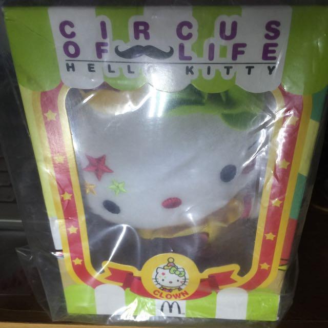 麥當勞的hello Kitty 小丑版