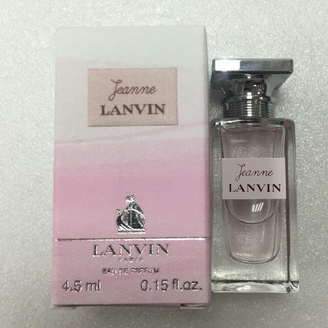 LANVIN Jeanne Lanvin 珍 浪凡 女性淡香精 4.5ml