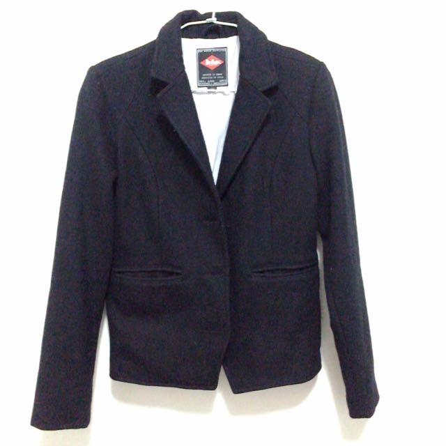 Lee布質休閒西裝外套