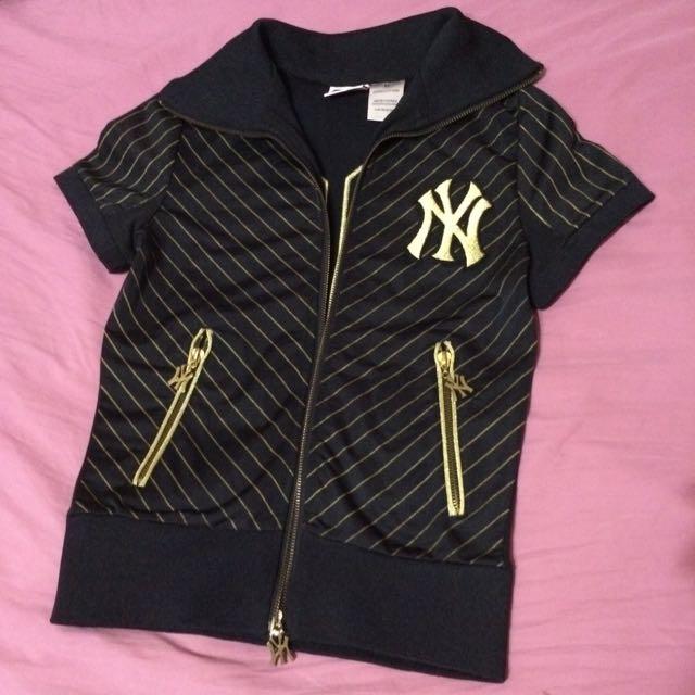 NY洋基隊短袖外套短裙set
