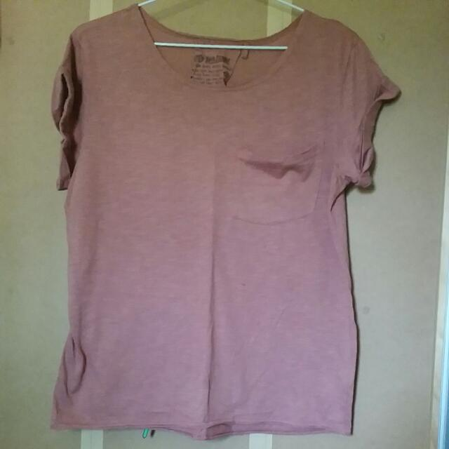 Pink/purple/coral T-Shirt Size Small