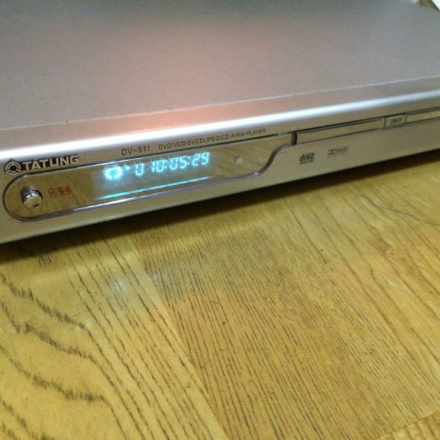 TATUNG DVD高清播放機/含遙控器