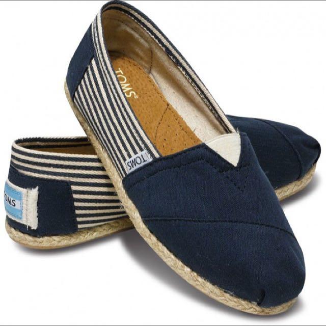 Toms男鞋海軍風