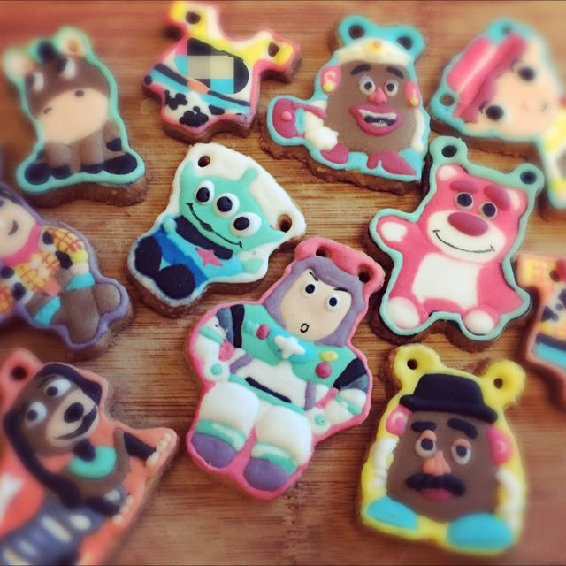 Vivi's Savory Sweets 玩具總動員 客製化糖霜餅乾 (訂做生日禮物、收涎餅乾、婚禮小物)
