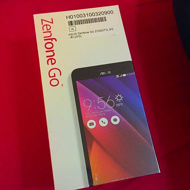 全新zenfone Go 未拆封(紅色)只賣$3000