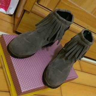 流蘇靴38