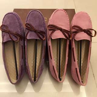 👍👍👍全新極柔軟真皮按摩鞋墊~豆豆鞋
