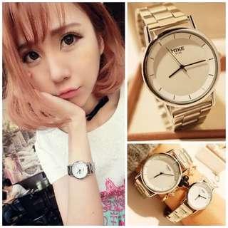 韓國熱賣簡約風情侶對錶 工廠直送(預購)