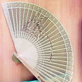 Handmade Sandalwood Fan