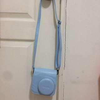 私物📷拍立得皮套 Mini8 水藍色