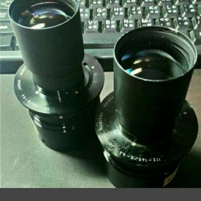 不知是哪的鏡頭(可議價)~112-145/8-9.4 Japan noritsu 很像投影頭~剩一顆唷~~~