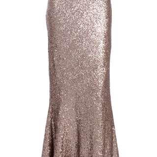 Poplook Mermaid Sequin Skirt Size M