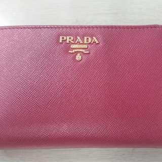 Prada Wallet Fuschia Colour