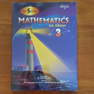 Shinglee Mathematics Workbook 3