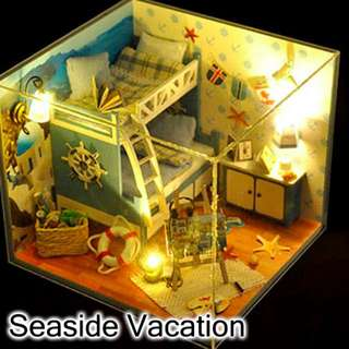 [INSTOCK] Seasons Theme DIY Miniature House