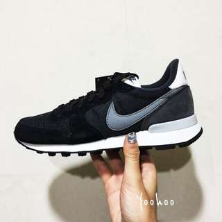 日本代購 NIKE WMNS INTERNATIONALIST 黑灰配色