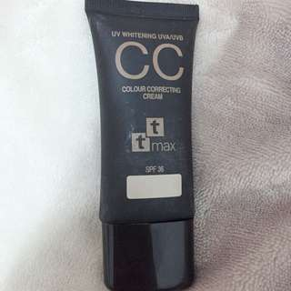 TTMAX 全效完美修飾CC霜
