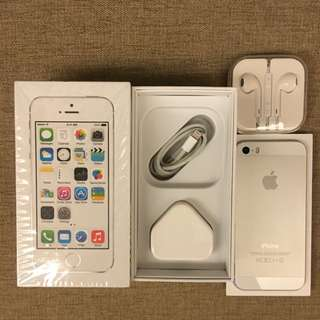 iPhone 5S 32G Silver
