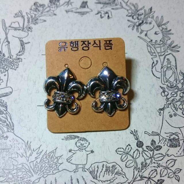 《全新》個性金屬造型耳環