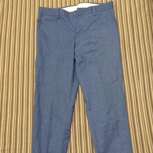 韓貨 窄版九分褲