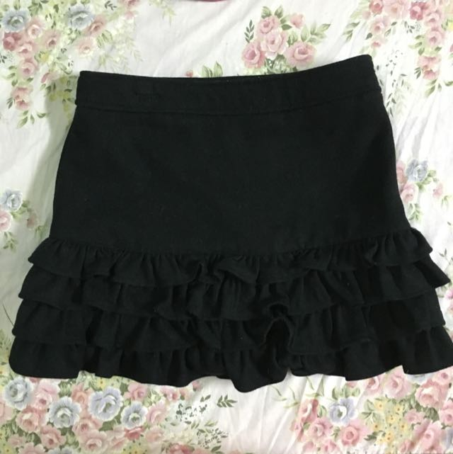日本日貨 CECIL McBEE 蛋糕裙 荷葉裙 花苞裙