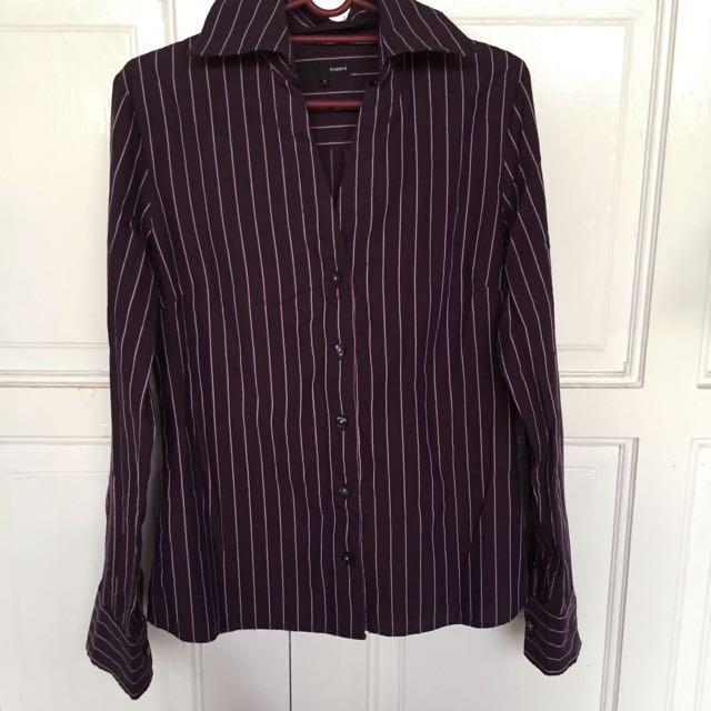 👭 Padini Stripes Formal Blouse