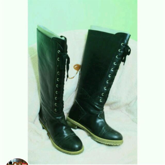 $990含運 《Ann's 黑色長靴》