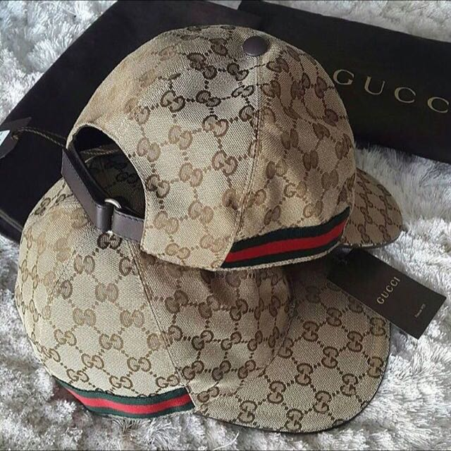 Christmas Gift Authentic GUCCI Baseball Cap Size L (red green ... 39c8ee137c2