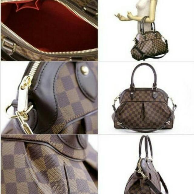 6adcb010b304 PRICE REDUCED! Authentic Louis Vuitton Damier Trevi PM Bag