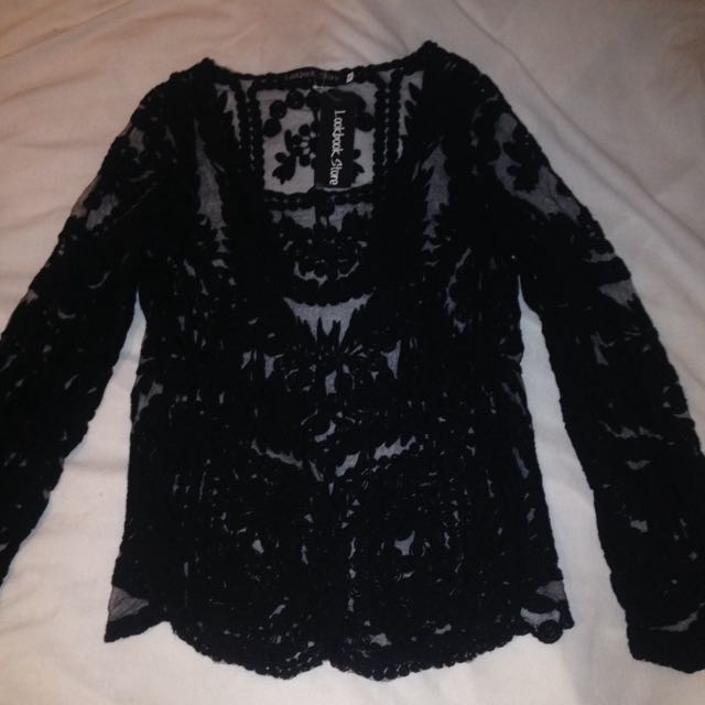 Brand New Never Worn Long sleeve Lace Top