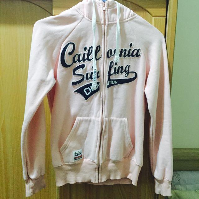 CACO粉色棒球外套