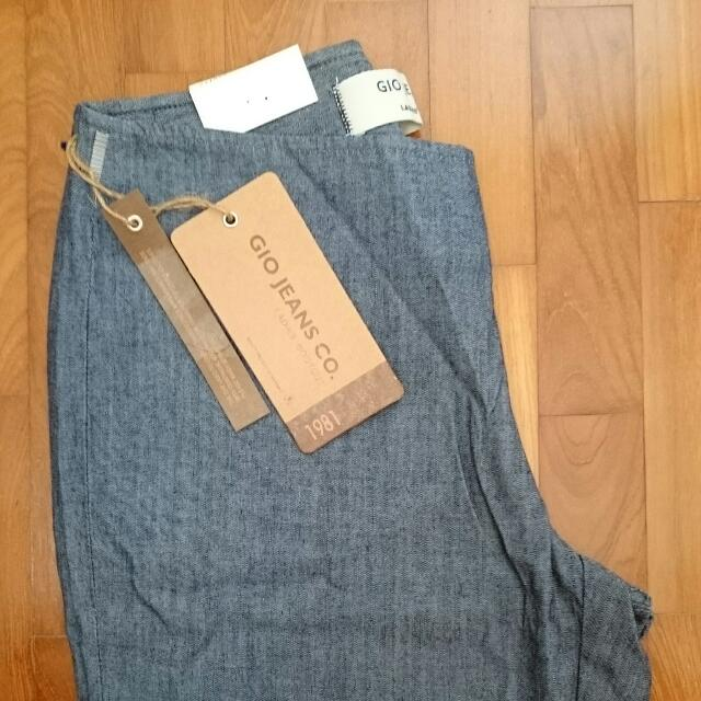 gio jeans co giordano ladies bootcut denim long pants brand new