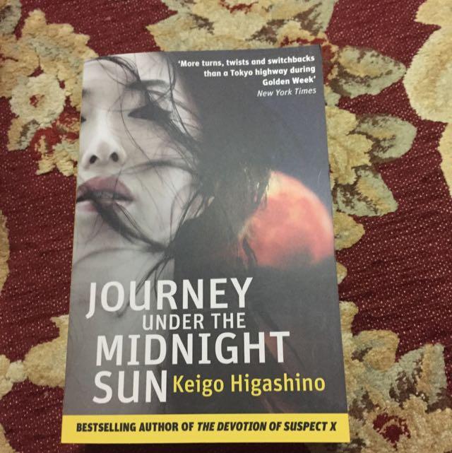 Journey Under The Midnight Sun Keigo Higashino Books Stationery