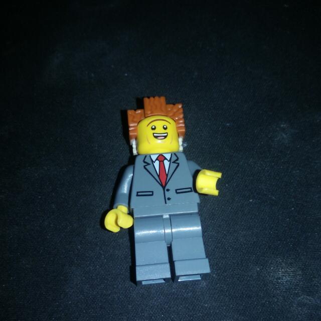 Lego Movie President business
