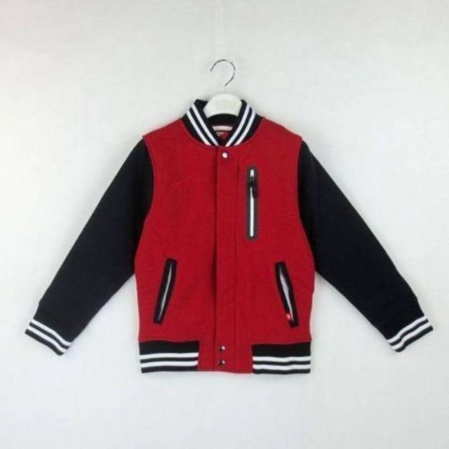 (全新)NIKE 棒球外套 VARSITY JACKET-AIR 紅黑款