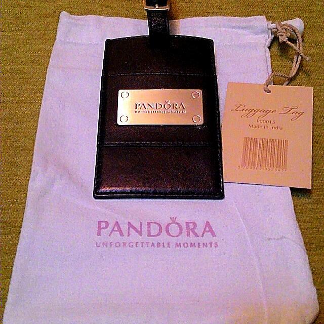 PANDORA 潘朵拉行李吊牌/卡夾