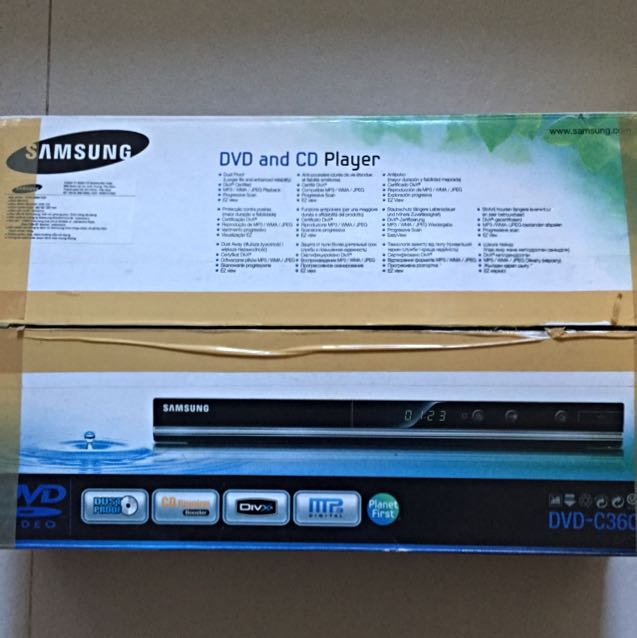 SAMSUNG DVD and CD PLAYER