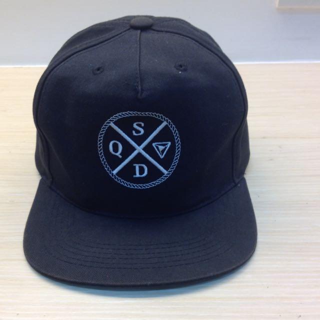 squad黑色帽子