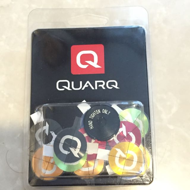 Quarq Battery Colored Cover Decals
