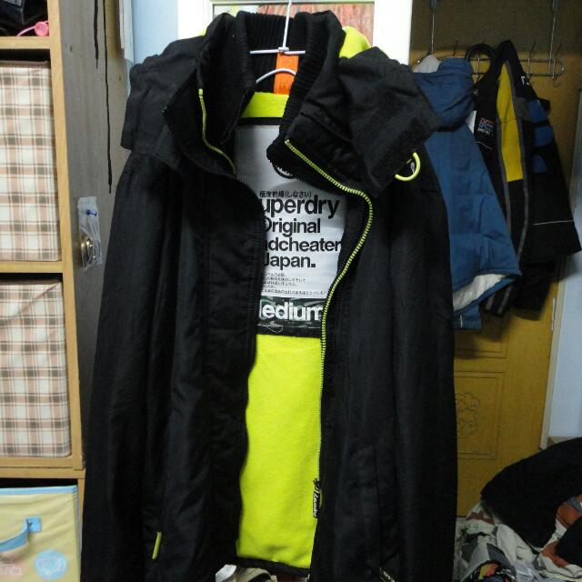 Reserved⛄Superdry 舖棉風衣