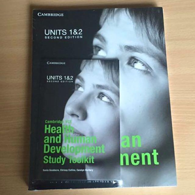 Units 1&2 Cambridge VCE Health and Human Development