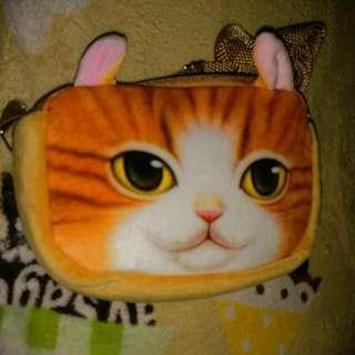 【現貨】貓咪 手拿包 肩背包 側背包