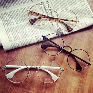❤️復古可愛圓圓眼鏡-3色