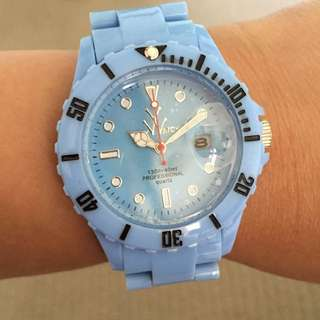 Genuine Toy Watch Baby Blue Colour