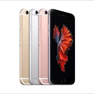 I PHONE 6S 64G 全新空機,顏色齊全