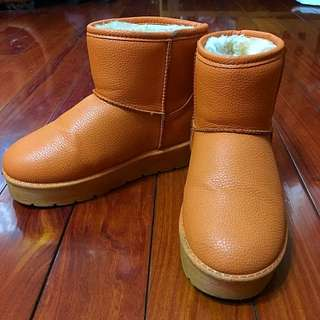 36號 防水保暖短雪靴