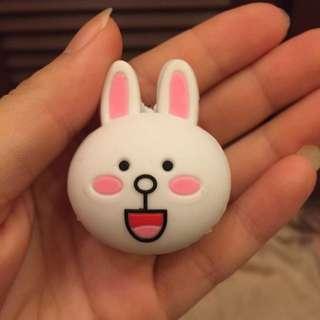 兔兔耳機塞+集線器